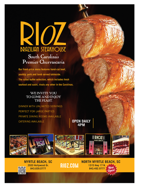 photo regarding Rioz Brazilian Steakhouse Printable Coupons titled Rioz Myrtle Beach front Discounts Comparable Key terms Recommendations